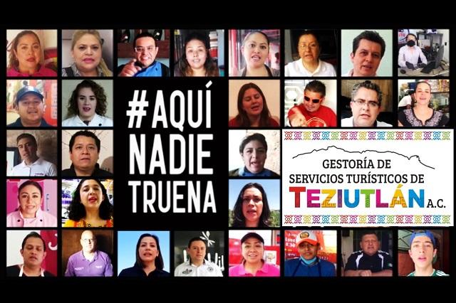 Crean campaña en Teziutlán para promover el comercio local