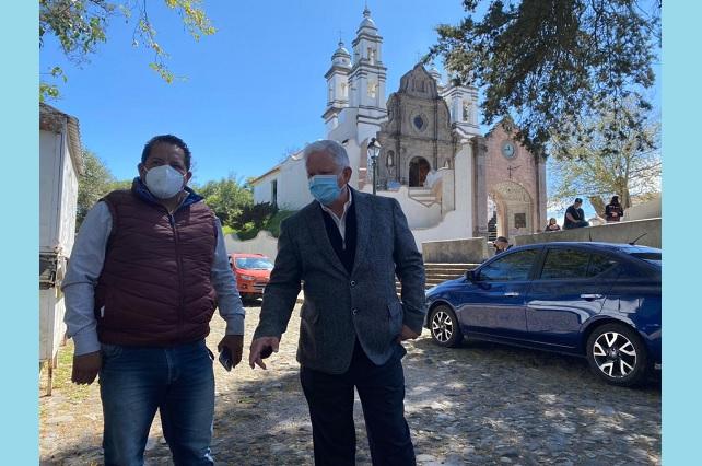 Gobierno de Teziutlán dará mantenimiento a plazuela del barrio del Carmen