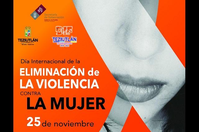 Conferencia en Teziutlán contra la violencia de género