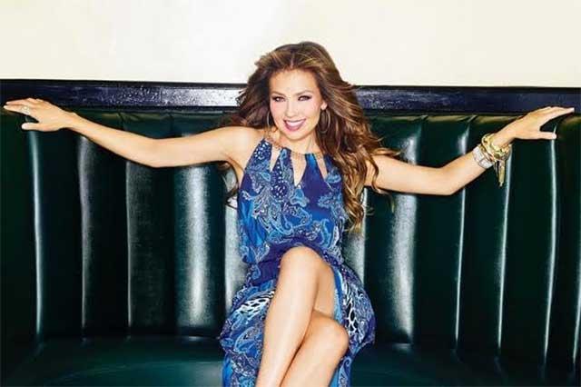 Thalía olvida las letras de sus canciones a causa de la dislexia