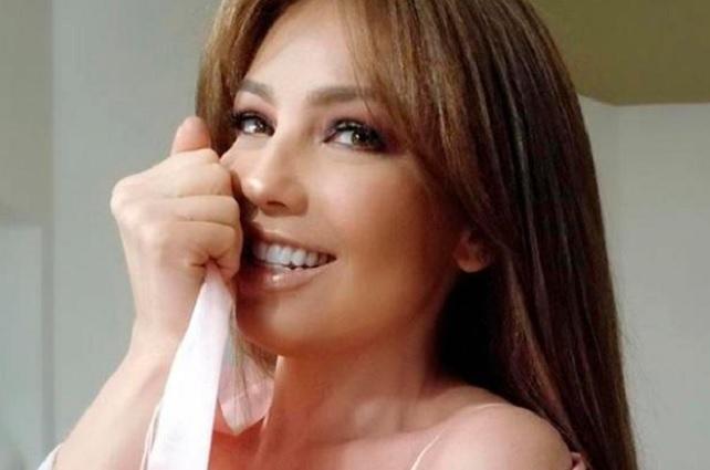 ¿Qué le pasó al rostro de Thalía?