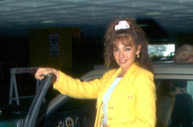 Revelan que Luis Miguel también chocó auto cuando viajaba con Thalía