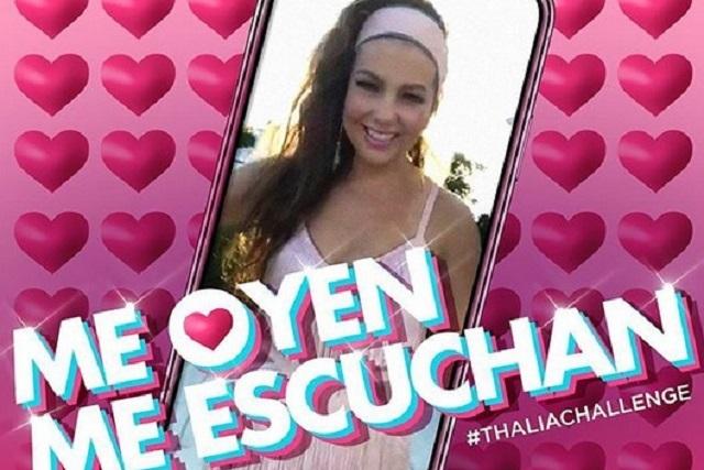 Thalía lanza como sencillo Me Oyen, Me Escuchan