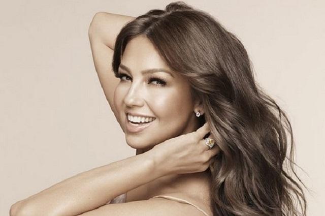 Thalía lanza línea de productos para el cabello