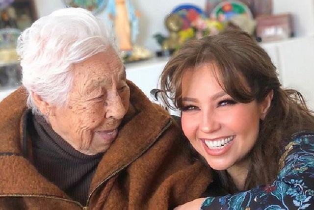 Hospitalizan a abuela de Thalía y Laura Zapata informa la razón
