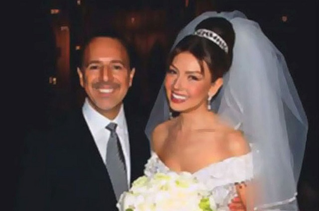 Thalía recuerda su matrimonio con Tommy Mottola