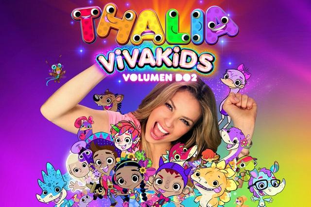 Thalía, sus canciones infantiles y más llegan a Discovery Kids