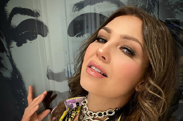 Thalía e Itatí Cantoral parodian a hermanas que se pelean en pastel