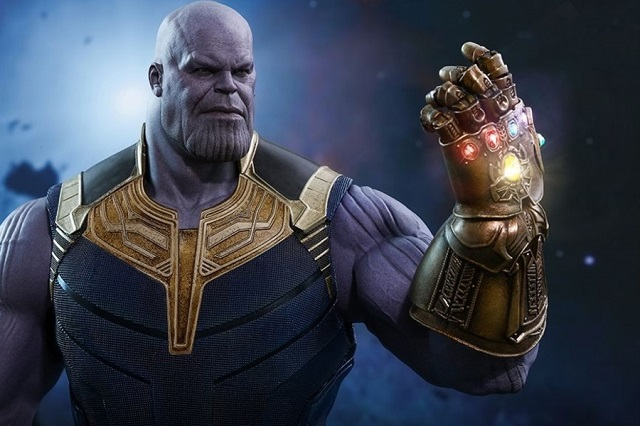 Juguetes de Avengers: Endgame revelan el arma de Thanos
