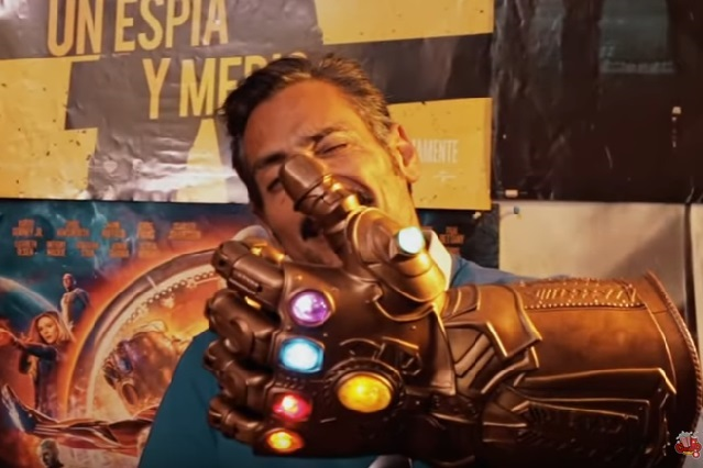 Él es la voz de Thanos, el temido villano de Avengers