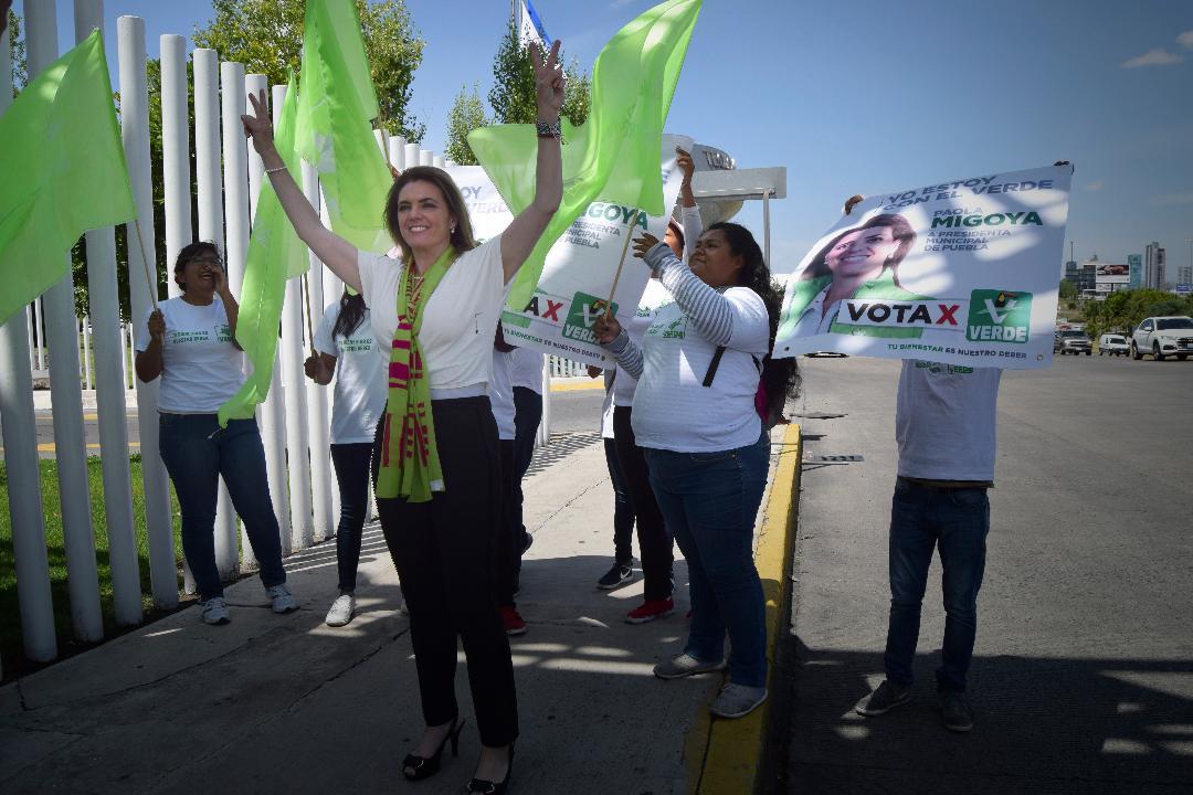 Confirma Paola Migoya ser la más preparada durante Conversatorio en el ITESM