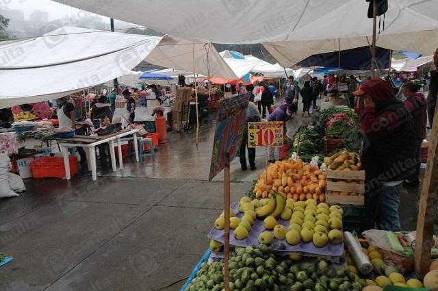 Comerciantes rechazan reinstalación de tianguis en Zacapoaxtla