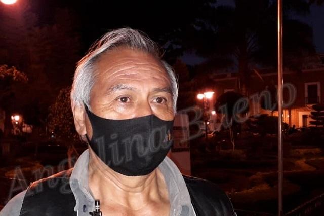 Por ambulantes tianguistas amenazan con instalarse en Atlixco