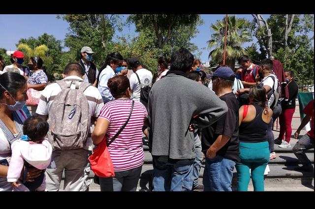 Ni apoyo ni despensas reciben tianguistas de Tehuacán