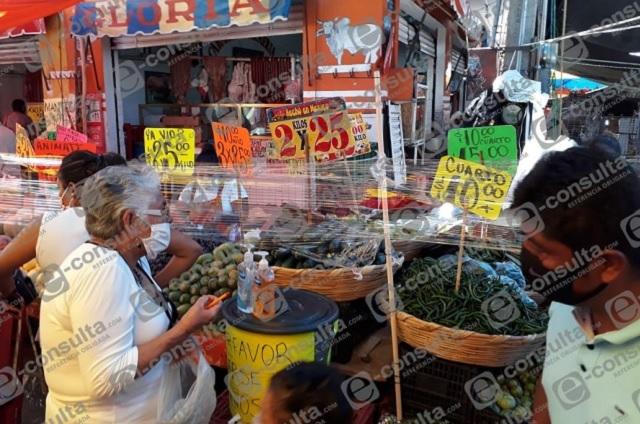 Regresan a las calles de Atlixco 70% de tianguistas