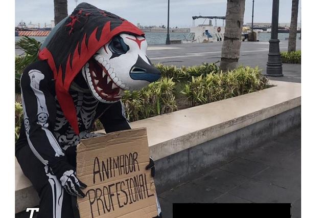 El 'Tibu', la mascota del extinto Veracruz, ya tiene nuevo trabajo