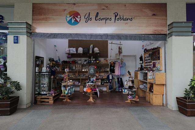 Cumple un año tienda Yo Compro Poblano en la plaza El Triángulo