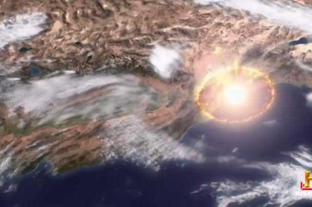 NASA muestra con video cómo sería destruida la Tierra por un asteroide
