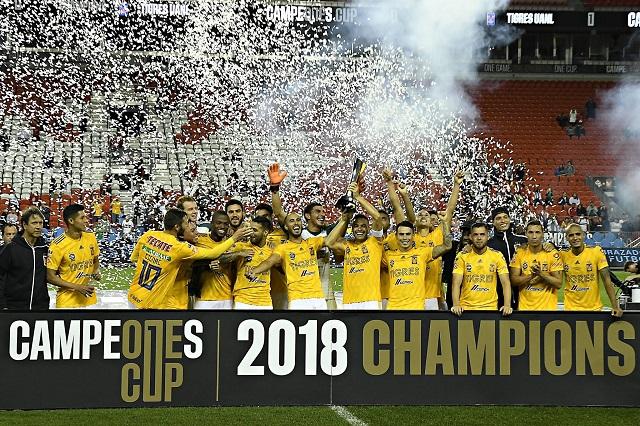 Consigue Tigres el primer título del Campeones Cup