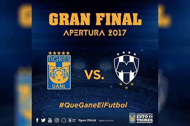 Por la historia: Tigres y Rayados van por el título de la Liga MX