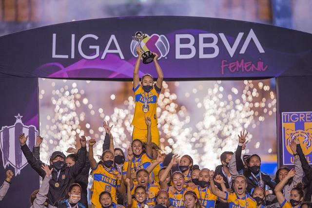 En penales, Tigres se lleva la Final Regia y son campeonas de la Liga MX Femenil