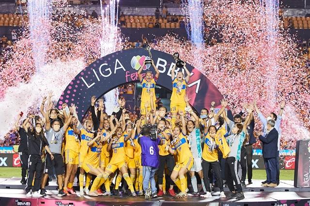 ¡Dominio puro! Tigres golea a Chivas y son bicampeonas de Liga MX Femenil