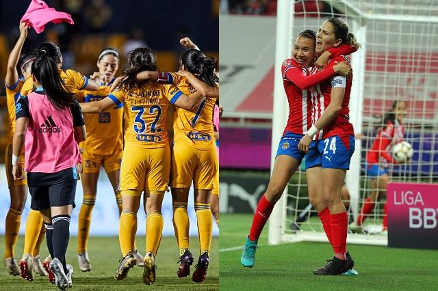 Tigres vs Chivas será la gran final en la Liga MX Femenil