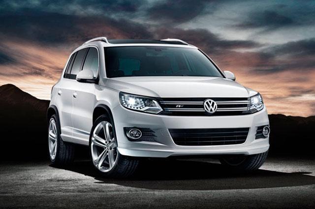 Ensambla VW la primera carrocería del modelo Tiguan