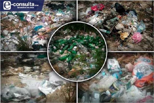Sin identificar a responsables de basurero clandestino en Chietla