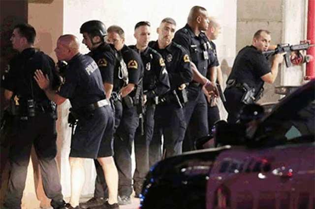 Difunden es redes sociales videos de la matanza de policías en Dallas