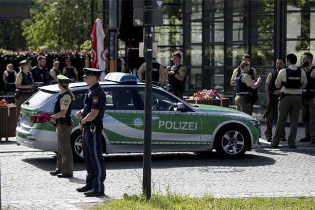 Tiroteo en estación de trenes de Múnich deja un saldo de 4 heridos