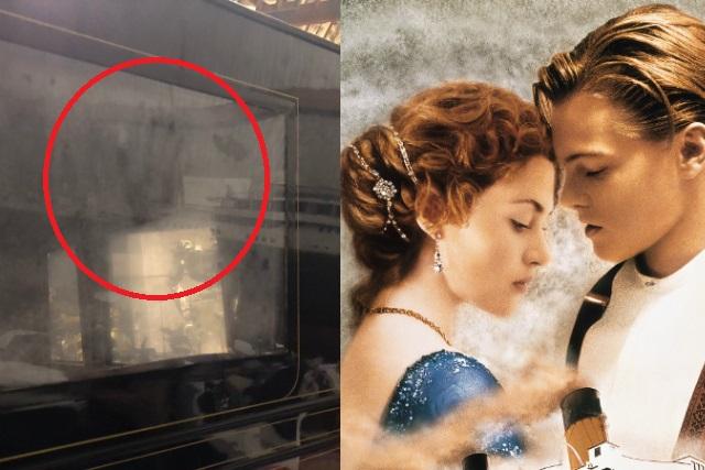 Director de Titanic asegura que la mano de Rose sigue marcada en el auto