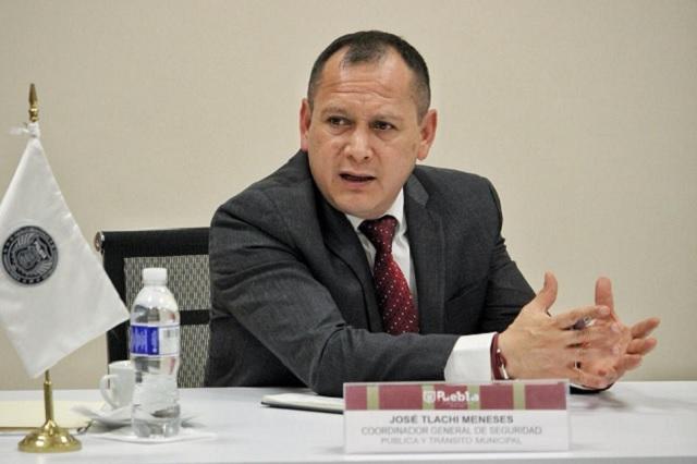 Asume José Tlachi coordinación general de la SSPTM en Puebla
