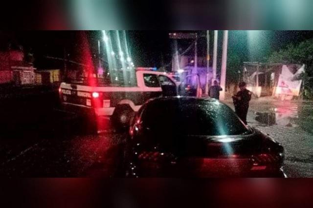 Hombre en estado de ebriedad le amputa dedo a policía de Tlacotepec