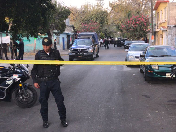 Balacera deja dos muertos y un herido en Tláhuac