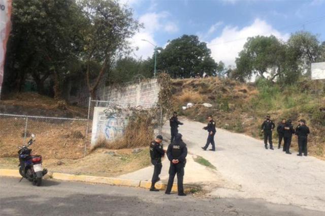 Detienen a 41 personas por invadir predios en Tlalpan
