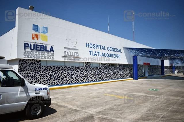 Fallece hombre por neumonía en hospital de Tlatlauquitepec
