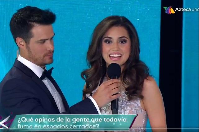 Video: En Mexicana Universal concursante de Tlaxcala llora tras grave error
