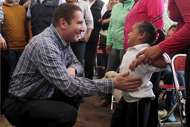 También regalarán en Puebla paquetes para recién nacidos