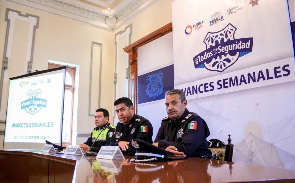Policía municipal remite a 685 presuntos delincuentes al MP
