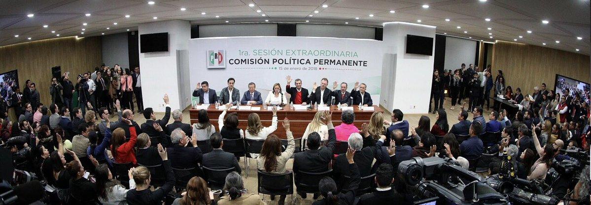Coalición del PRI cambia de nombre y ahora se llama Todos Por México