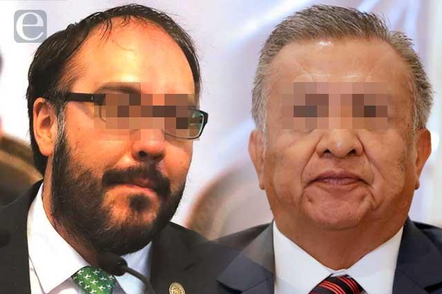 Huerta y Toledo quedan sin fuero acusados de violación y corrupción