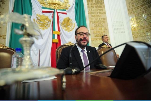 Toledo no podrá rendir protesta, confirma presidente de la Cámara