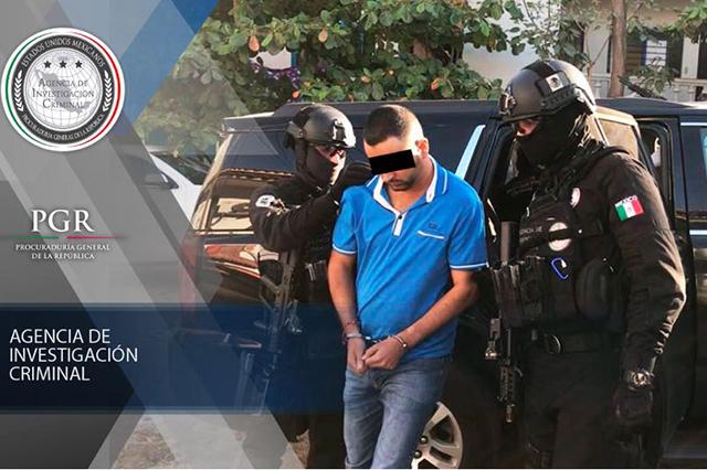 Federales capturan a El Tolín, jefe de plaza del Cártel de Jalisco