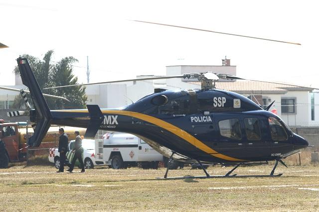 Senadores del PRI critican opacidad del gobierno de Puebla sobre helicópteros