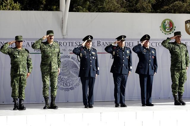 Relevan a mandos en policía y escuelas militares en Puebla