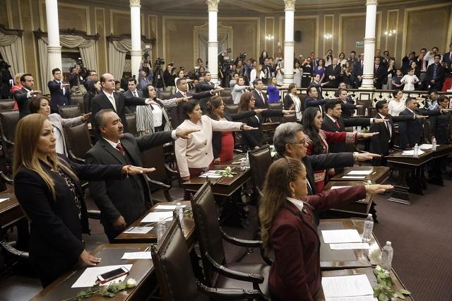 Al instalar nuevo Congreso va Morena por leyes morenovallistas
