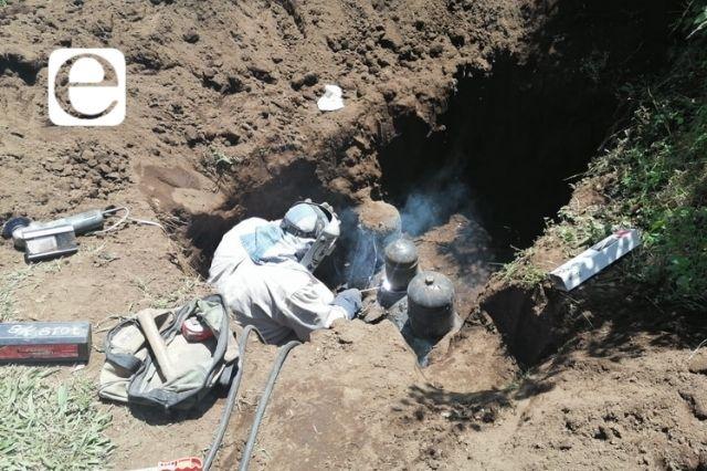 Localizan toma clandestina de hidrocarburo en Huauchinango
