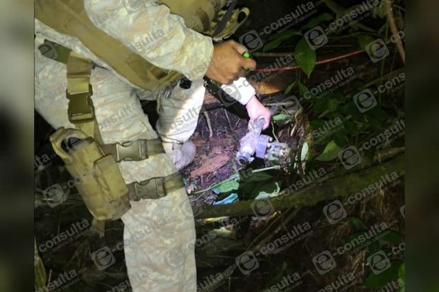 Hallan toma clandestina de hidrocarburo en Huauchinango