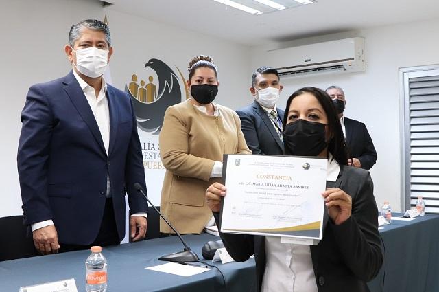Fiscalía Puebla incorpora a 29 nuevos Agentes Investigadores